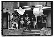 Anti-Police demos, Bristol, St. Paul's Flats, 1985
