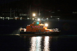 Oban's RNLB Mora Edith MacDonald assisting along with other emergency services in the search for a missing person in the Oban area....... (c) Stephen Lawson | Edinburgh Elite media