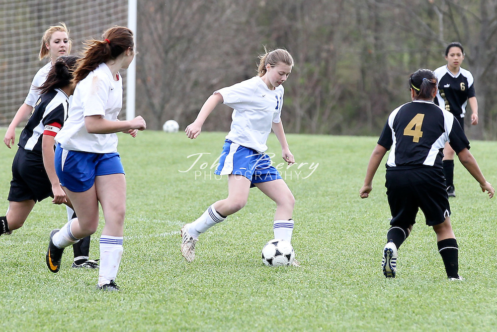 April/13/11:  MCHS JV Girls Soccer vs Manassas Park.  Madison wins 5-0.  First half goals by Abby Bowman and Savannah Bench (2).  Second half goals by Sheridan Santinga (2).