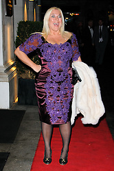 Vanessa Feltz arrives at the Daily Mail Inspirational Woman of The Year Awards, London, Wednesday January 18, 2012. Photo By i-Images