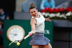 May 11, 2019 - Madrid, MADRID, SPAIN - Simona Halep (ROU) during the Mutua Madrid Open 2019 (ATP Masters 1000 and WTA Premier) tenis tournament at Caja Magica in Madrid, Spain, on May 11, 2019. (Credit Image: © AFP7 via ZUMA Wire)