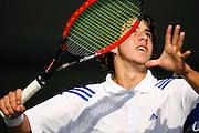 SAN DIEGO, CA - OCTOBER 29:  USTA Jr. National Championships on Ocotber 29, 2006 at the Barnes Tennis Center in San Diego, California.  (Photo by Jeff Bottari/Bernstein Associates)