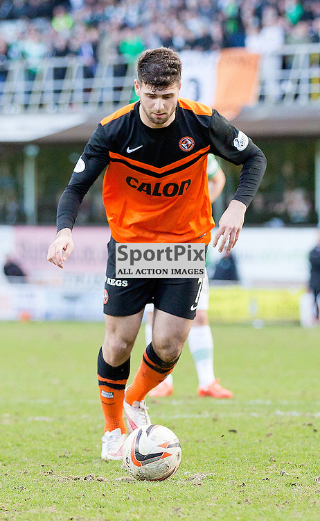 Dundee United v Glasgow Celtic Scottish Cup Quarter-Final 8 March 2015; Nadir Çiftçi (Dundee United, 7) scores from the penalty spot during the Dundee United v Glasgow Celtic Scottish Cup Quarter-final match played at Tannadice Park, Dundee;