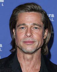 SANTA BARBARA, CALIFORNIA, USA - JANUARY 22: Actor Brad Pitt arrives at the 35th Santa Barbara International Film Festival - Maltin Modern Master Award Honoring Brad Pitt held at The Arlington Theatre (Metropolitan Theatres) on January 22, 2020 in Santa Barbara, California, United States. 22 Jan 2020 Pictured: Brad Pitt. Photo credit: Xavier Collin/Image Press Agency/MEGA TheMegaAgency.com +1 888 505 6342