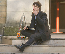 Picture by Mark Larner/Retna Pictures.  Picture shows Pete Doherty arriving at Snaresbrook Crown Court 08/04/2011...Doherty is charged with possession of cocaine over the death of heiress Robin Whitehead in a flat in Hackney, east London in January 2010..Whitehead, 27, was the granddaughter of Teddy Goldsmith, founder of the Ecologist magazine, and a cousin of the Tory parliamentary candidate, Zac Goldsmith. She is thought to have died from a drug overdose while staying with Peter Wolfe, a 41-year-old musician also known as Wolfman - and a friend of Doherty. Also appearing is musician Alan Wass.