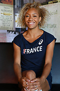Portrait of Renelle Lamote during the European Championships 2018, at Club France in Berlin, Germany, Day -1, on August 5, 2018 - Photo Philippe Millereau / KMSP / ProSportsImages / DPPI