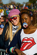Obama Rally in Leesburg, VA