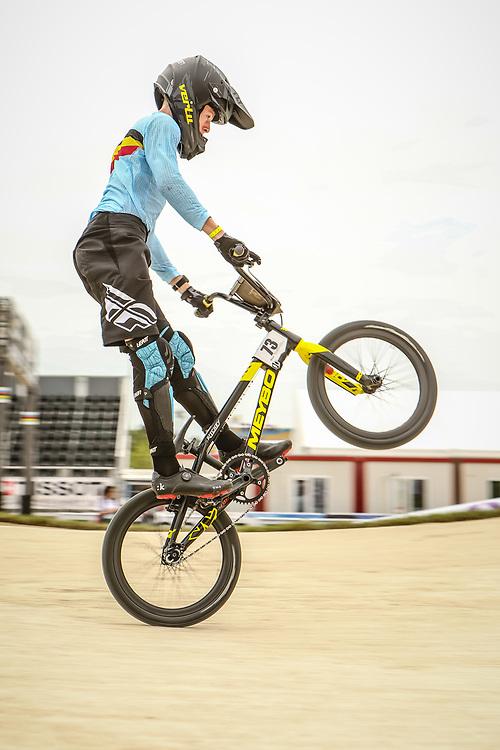 2018 UCI World Championships<br /> Baku, Azerbaijan<br /> 14 Boys #73 (VERHERSTRAETEN Louis) BEL Verlu Meybo