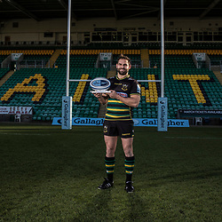 Gallagher Premiership Player of the Month for December 2018 is Northampton Saints, Cobus Reinach,
