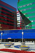 Center Green and Center Red at The Pacific Design Center
