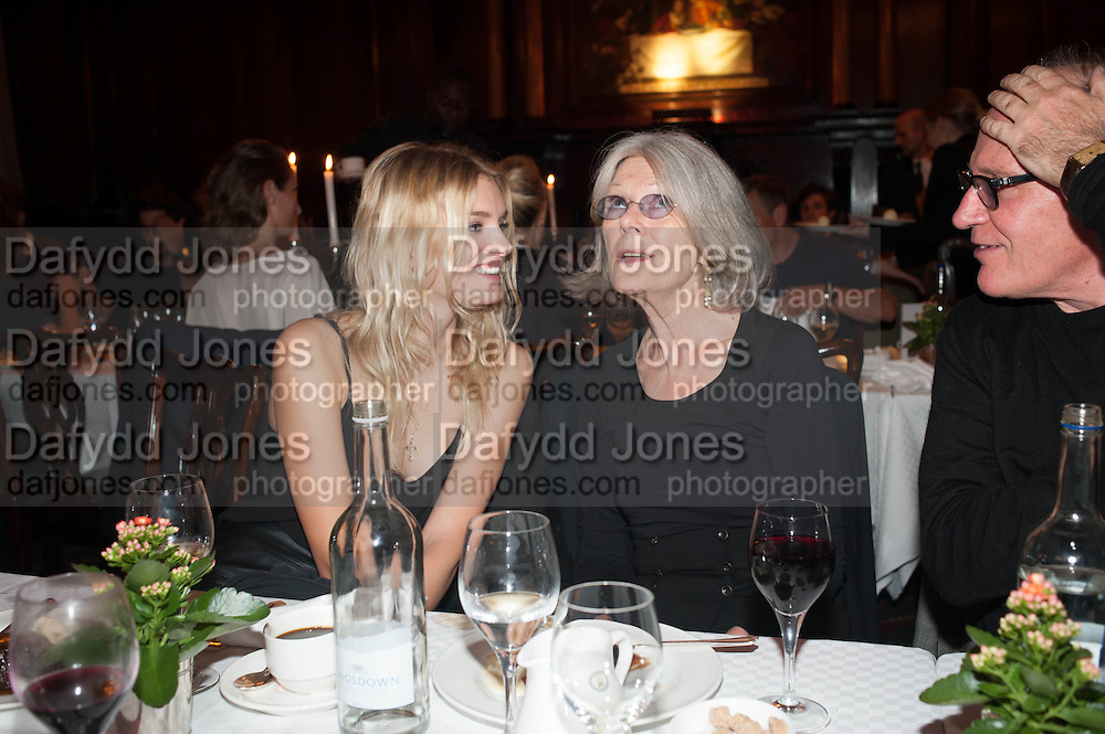 LILY DONALDSON; PATRICIA DONALDSON, Opening of Morris Lewis: Cyprien Gaillard. From Wings to Fins, Sprüth Magers London Grafton St. London. Afterwards dinner at Simpson's-in-the-Strand hosted by Monika Spruth and Philomene Magers.