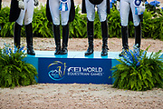 Prijsuitreiking Nations Cup team Germany<br /> FEI World Equestrian Games Tryon 2018<br /> © DigiShots