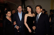 Horatia Lawson, Dominic Lawson, Nigella Lawson andNigel Lawson, 'Feast Food that celebrates Life' by Nigella Lawson book launch. Cadogan Hall, Sloane Terace. 11 October 2004. ONE TIME USE ONLY - DO NOT ARCHIVE  © Copyright Photograph by Dafydd Jones 66 Stockwell Park Rd. London SW9 0DA Tel 020 7733 0108 www.dafjones.com