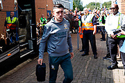 Leeds United midfielder Pablo Hernandez (19) arrives  during the EFL Sky Bet Championship match between Wigan Athletic and Leeds United at the DW Stadium, Wigan, England on 17 August 2019.