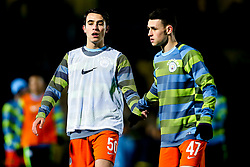 Eric Garcia of Manchester City and Phil Foden of Manchester City - Mandatory by-line: Robbie Stephenson/JMP - 23/01/2019 - FOOTBALL - Pirelli Stadium - Burton upon Trent, England - Burton Albion v Manchester City - Carabao Cup