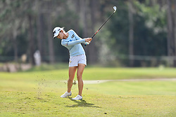 January 19, 2019 - Lake Buena Vista, FL, U.S. - LAKE BUENA VISTA, FL - JANUARY 19: Lydia Ko of New Zealand hits her approach on hole 2 during the third round of the Diamond Resorts Tournament of Champions on January 19, 2019, at Tranquilo Golf Course at Fours Seasons Orlando in Lake Buena Vista, FL. (Photo by Roy K. Miller/Icon Sportswire) (Credit Image: © Roy K. Miller/Icon SMI via ZUMA Press)
