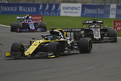 September 1, 2019, Spa Francorchamps, Belgium: Renault Driver DANIEL RICARDO (AUS) in action during the race of the Formula one Johnnie Walker Belgian Grand Prix at the SPA Francorchamps circuit - Belgium..Charles Leclerc wins his first Formula One Grand Prix (Credit Image: © Pierre Stevenin/ZUMA Wire)