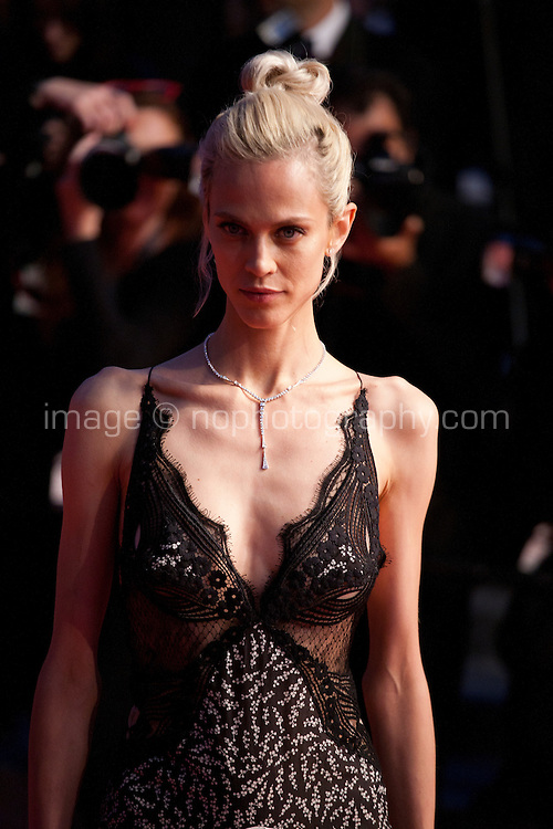 Aymeline Valade at the gala screening for the film It's Only the End of the World (Juste La Fin Du Monde) at the 69th Cannes Film Festival, Thursday 19th  May 2016, Cannes, France. Photography: Doreen Kennedy