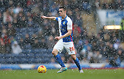 Blackburn Rovers defender, Darragh Lenihan (26) during the Sky Bet Championship match between Blackburn Rovers and Brighton and Hove Albion at Ewood Park, Blackburn, England on 16 January 2016.