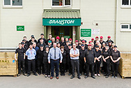 Branston Potatoes staff photograph, Abernethy, Scotland