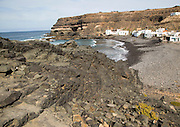 Fishing village of Los Molinos, west coast of Fuerteventura, Canary Islands, Spain