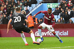 March 16, 2019 - Birmingham, England, United Kingdom - Jonathan Kodjia (26) of Aston Villa battles with Middlesbrough defender Dael Fry (20) during the Sky Bet Championship match between Aston Villa and Middlesbrough at Villa Park, Birmingham on Saturday 16th March 2019. (Credit Image: © Mi News/NurPhoto via ZUMA Press)