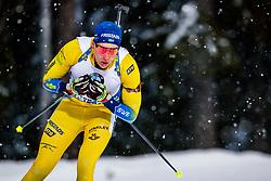 March 16, 2019 - –Stersund, Sweden - 190316 Martin Ponsiluoma of Sweden competes in the Men's 4x7,5 km Relay during the IBU World Championships Biathlon on March 16, 2019 in Östersund..Photo: Johan Axelsson / BILDBYRÃ…N / Cop 245 (Credit Image: © Johan Axelsson/Bildbyran via ZUMA Press)