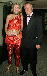MR & MRS FREDERICK FORSYTH, he is the bestselling author, at a reception in London on 12th June 1997.LZH 18
