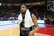 Paul Harris<br /> Openjobmetis Pallacanestro Varese - Vanoli Cremona<br /> Lega Basket Serie A 2016/2017<br /> Varese 30/04/2017<br /> Foto Ciamillo-Castoria