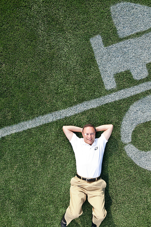 Joe Banner is the president of the Philadelphia Eagles NFL football team. He was pictured at the NovaCare Training Complex, the team's training facility, in South Philadelphia on July 28, 2010.