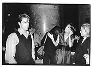 John Barrowman, Peggy Siegal, Michael Crichton at the Museum of Natural History 21 Sept '95, New York © Copyright Photograph by Dafydd Jones 66 Stockwell Park Rd. London SW9 0DA Tel 020 7733 0108 www.dafjones.com