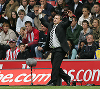 Photo: Lee Earle.<br /> Southampton v Derby County. Coca Cola Championship. Play Off Semi Final, 1st Leg. 12/05/2007.Derby manager Billy Davies.