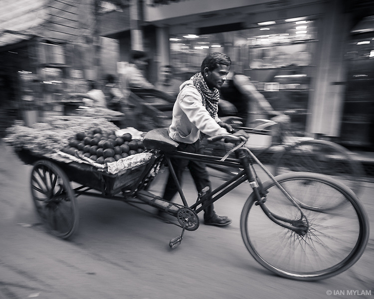 Bicycle Rickshaw, Chandni Chowk, Old Delhi, India