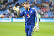 Rob Robert Green gestures in warm up during the Premier League match between Brighton and Hove Albion and Chelsea at the American Express Community Stadium, Brighton and Hove, England on 16 December 2018.