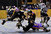 20160430 Roller Derby - Richter City All Stars v Whakatane Roller Derby League