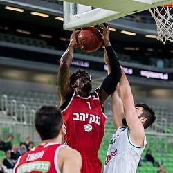 20161026: SLO, Basketball - 7Days EuroCup 2016/17, KK Union Olimpija vs BC Hapoel Jerusalem