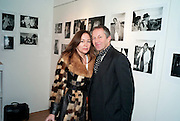 DOMITILLA GETTY; NICK ASHLEY, The Way We Wore.- Photographs of parties in the 70's by Nick Ashley. Sladmore Contemporary. Bruton Place. London. 13 January 2010. *** Local Caption *** -DO NOT ARCHIVE-© Copyright Photograph by Dafydd Jones. 248 Clapham Rd. London SW9 0PZ. Tel 0207 820 0771. www.dafjones.com.<br /> DOMITILLA GETTY; NICK ASHLEY, The Way We Wore.- Photographs of parties in the 70's by Nick Ashley. Sladmore Contemporary. Bruton Place. London. 13 January 2010.