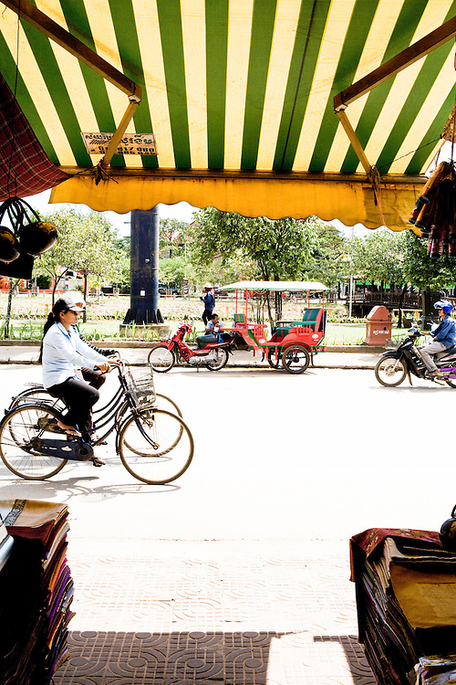 Outside Old Market. Siem Reap, Cambodia