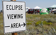 A designated eclipse viewing area in a campground near Guernsey, Wyoming U.S. August 20, 2017.  REUTERS/Rick Wilking