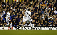 Photo: Olly Greenwood.<br />Tottenham Hotspur v Club Brugge. UEFA Cup. 02/11/2006. Club Brugge's Salou Ibrahim scores