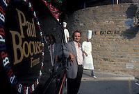 Paul Bocuse at his restaurant near Lyon, 1983