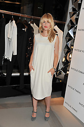 EDITH BOWMAN at a party to celebrate the opening of the new Nicole Farhi global flagship store at 25 Conduit Street, London W1 on 19th September 2011.