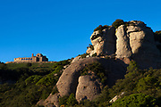 La Mola, a mountain in the park of Sant Llorenç del Munt i l'Obac - La Mola, Mountain, Barcelona, Catalonia, Spain