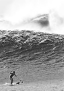 surf photography,stand up paddle,B&W