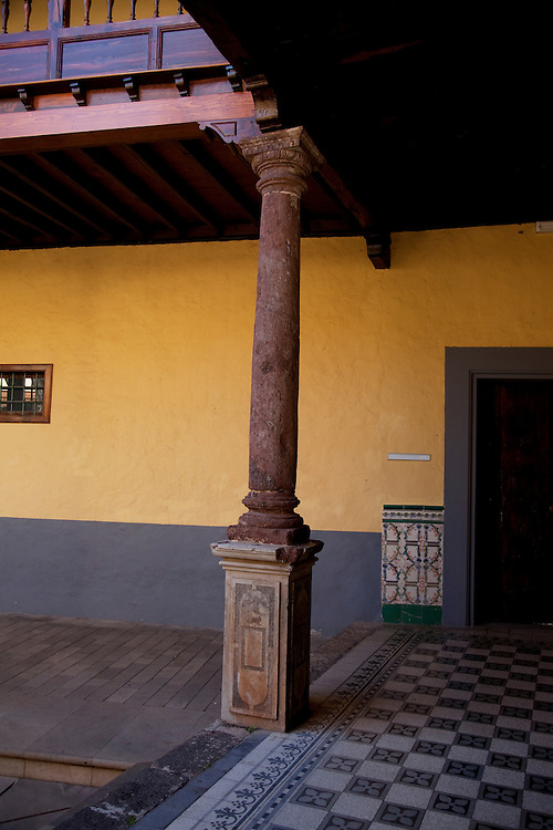 Tourist information centre in one of the old buildings. La Laguna, Tenerife.