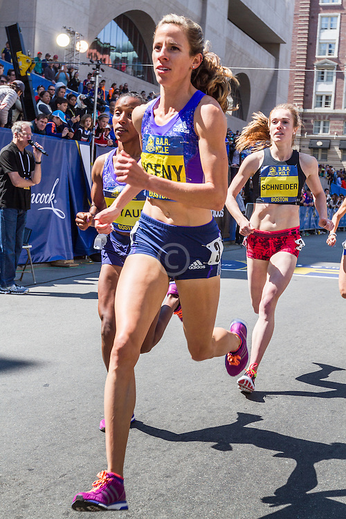 Boston Marathon: BAA Invitational Mile, Women, Uceny