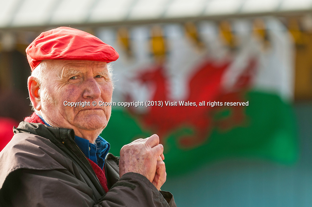 St David's Day Parade<br /> St Davids<br /> March 2013<br /> Pembrokeshire<br /> South<br /> Events