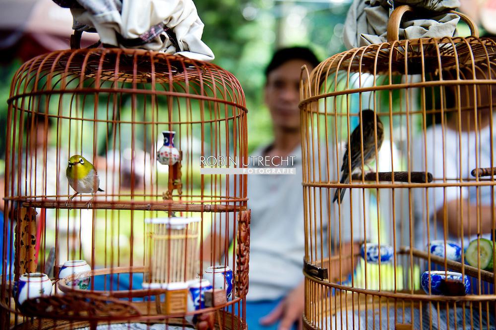 HO CHI MIHN - Ho Chi Minhstad, eerder bekend als Saigon en daarvoor als Prey Nokor, is de grootste stad de hoofstad  in Vietnam. Hij ligt op de westelijke oever van de Sài Gòn, behoort tot de gelijknamige Thanh Pho en valt in de regio Dông Nam Bô. Binnen de stadsgrenzen, zo'n 7 kilometer ten noordwesten van het centrum bevindt zich de Internationale Luchthaven Tân Sơn Nhất COPYRIGHT ROBIN UTRECHT