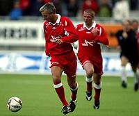 Fotball<br /> Oppvisningskamp<br /> Color line stadion<br /> 13.07.2006<br /> Liverpool old stars v Norway old stars 3-1<br /> Foto: Richard Brevik - Digitalsport<br /> <br /> Ian Rush - liverpool all stars<br /> Mike marsh - liverpool all stars