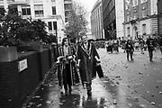 GARDENERS, Lord Mayor's show London. 11 November 2017.